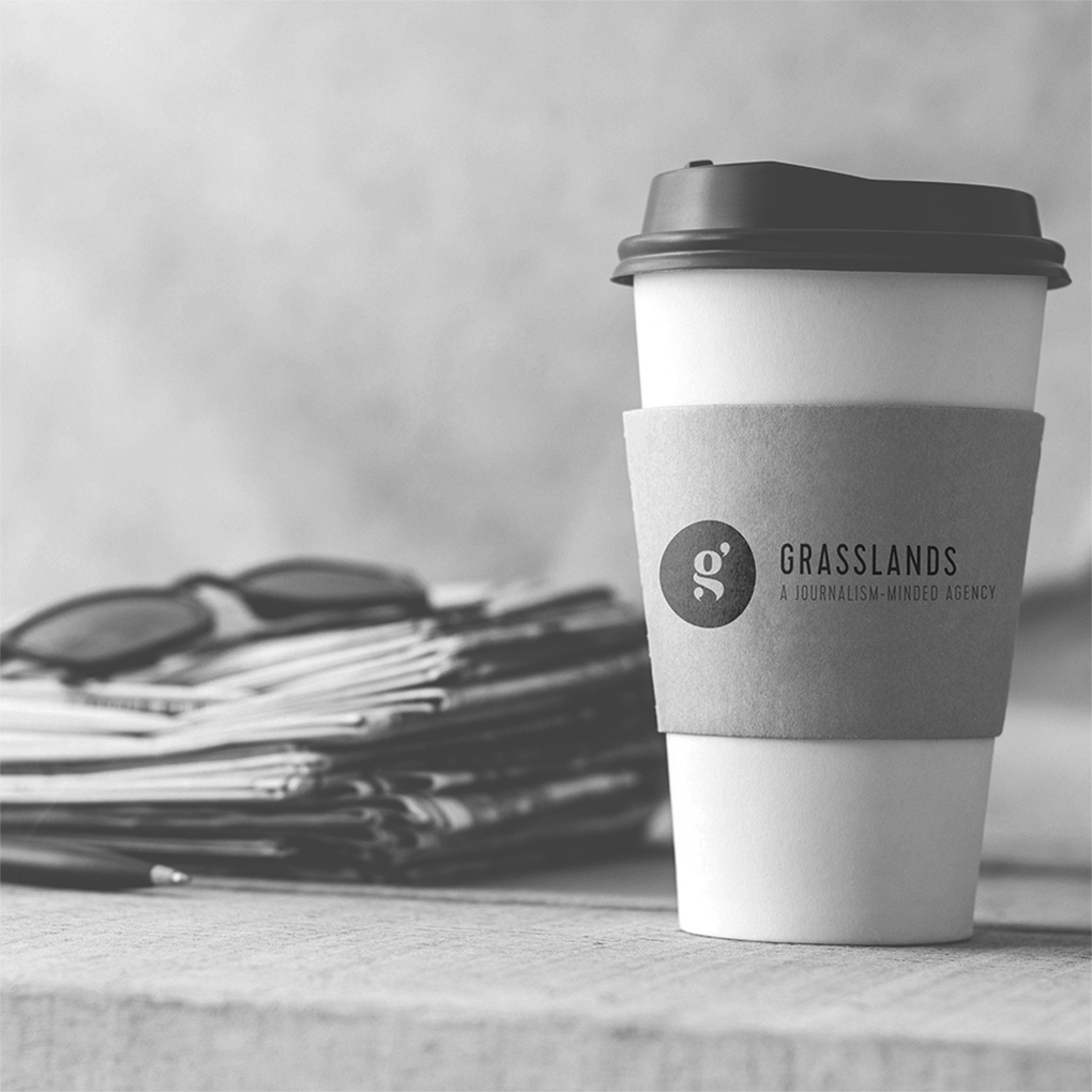 Grasslands getting clients into broadcast, online, print, influencer, podcast and social media.