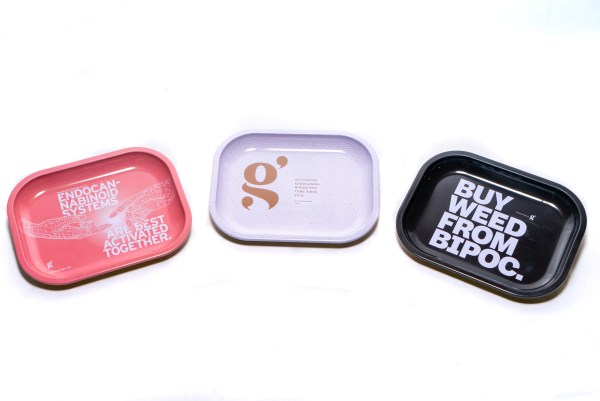 a photo of the trio of trays from the grasslands bodega store